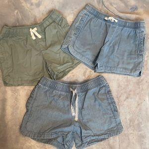3 Pairs Carter's Girls Size 8 Shorts